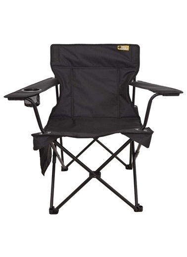 Funky Chairs Funky Chairs V2 Siyah Lüks Kamp Sandalyesi Siyah